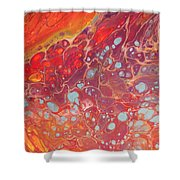 Purple Fire - 11 X 14 Canvas,$250 Shower Curtain