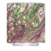 Purple Flow Shower Curtain