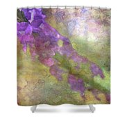 Purple Flowers 8621 Idp_2 Shower Curtain