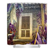 Purple Key West Shower Curtain