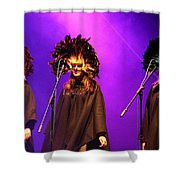 Purple Ladies Shower Curtain