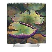 Purple Linings I Shower Curtain