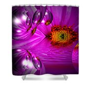 Purple Magic Shower Curtain