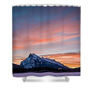 Purple Morning  Shower Curtain