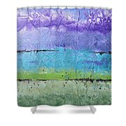 Purple Mountain's Majesty Shower Curtain