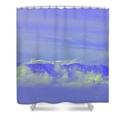 Purple Mountain's Majesty... Shower Curtain