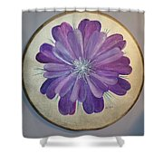 Purple Paradise Shower Curtain