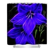 Purple Passion Shower Curtain by Joann Copeland-Paul