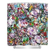 Purple Passions Shower Curtain