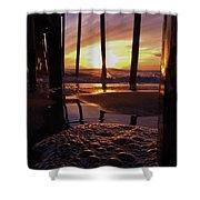 Purple Pier Perfection 2012 Shower Curtain