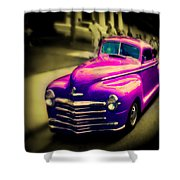 Purple Ride Shower Curtain