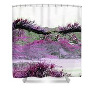 Purple Sensation Shower Curtain