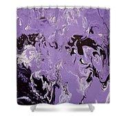 Purple Series No. 3 Shower Curtain