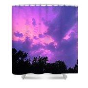 Purple Sky Shower Curtain