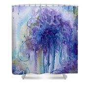 Purple Sofness Shower Curtain