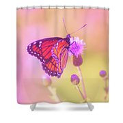 Purple Touch Shower Curtain