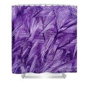 Purple Watercolor Art  Shower Curtain