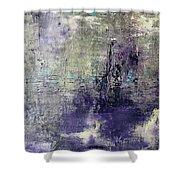 Purpletan Shower Curtain