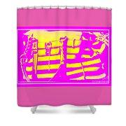 Purse Shower Curtain