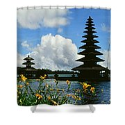 Puru Ulun Danau  Shower Curtain