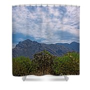 Pusch Ridge Morning H26 Shower Curtain