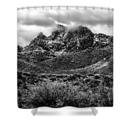 Pusch Ridge Snow No10 Shower Curtain