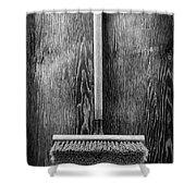 Push Broom Shower Curtain