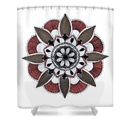 Push Out Shower Curtain