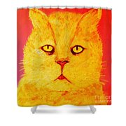 Pussy Shower Curtain
