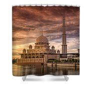 Putrajaya Beauty At Dusk Shower Curtain