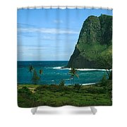 Puu Koae Kahakuloa Shower Curtain