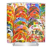 Puzzles Shower Curtain