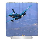 Pv-2 Harpoon At Salinas Shower Curtain