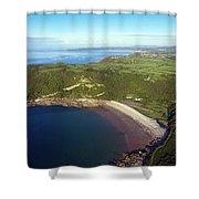Pwll Du Bay Swansea Shower Curtain