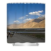 Pyandzh Valley Shower Curtain