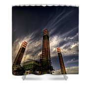 Pylons Shower Curtain