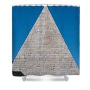 Pyramid Of Caius Cestius Shower Curtain