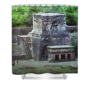 Pyramid View Shower Curtain by Jeff Kolker