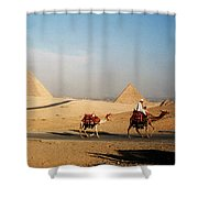 Pyramids At Giza Shower Curtain