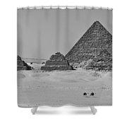 Pyramids At Giza Shower Curtain