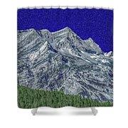 Pyrenees Astazous Mountain Shower Curtain