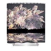 Pyroclastics Shower Curtain