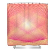 Pyrotechnic Cathedral Shower Curtain