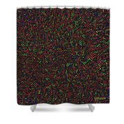 Python Daliescher Shower Curtain