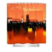 Q-city Zero Shower Curtain