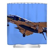 Qf-4 Phantom II 3 Shower Curtain