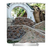 Qingdao Moon Gate Shower Curtain