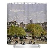 Quai Du Louvre In Paris Shower Curtain