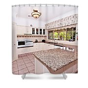 Quaint Kitchen Shower Curtain