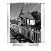 Quaint Place Of Worship Shower Curtain
